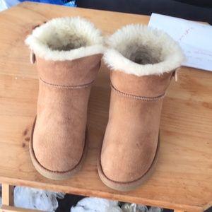 Australia ugg mini bailey button sz 8 boots good